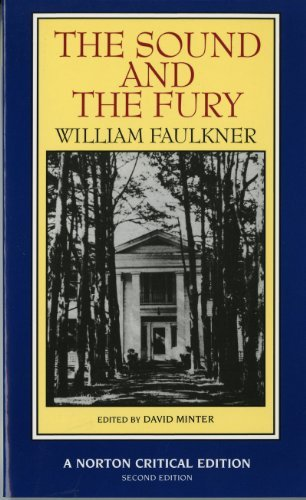 The Sound and the Fury by William Faulkner book cover