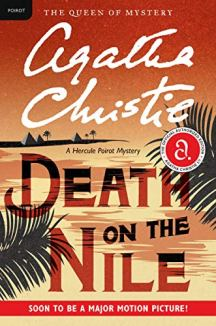 Agatha Christie's Death on the Nile book cover