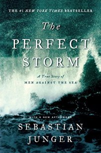 The Perfect Storm: a True story of Men Against the Sea book cover