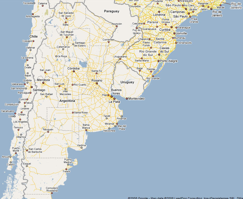 Expat Tech Google Maps Argentina Phase I Discover Buenos Aires - Argentina map google