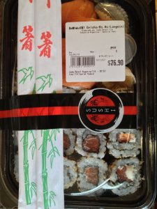 Supermarket Sushi Comes to Argentina
