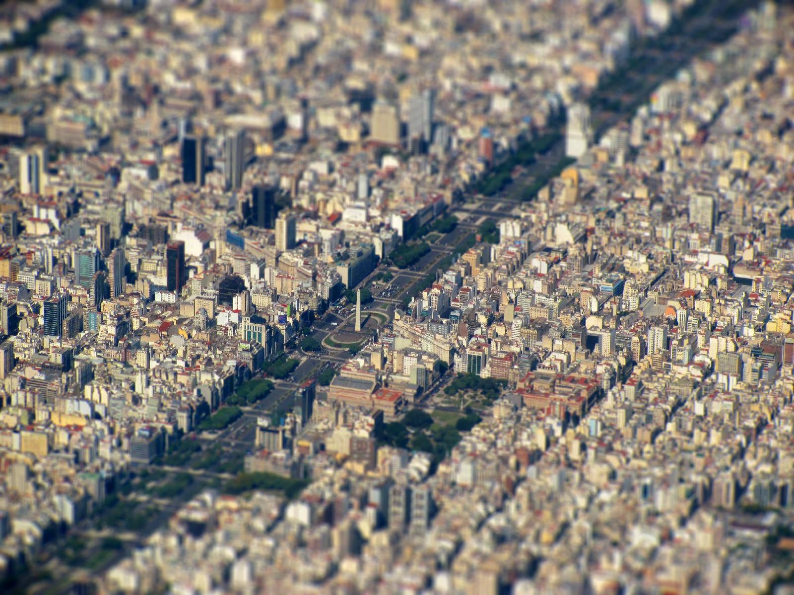 Buenos Aires Tilt Shift