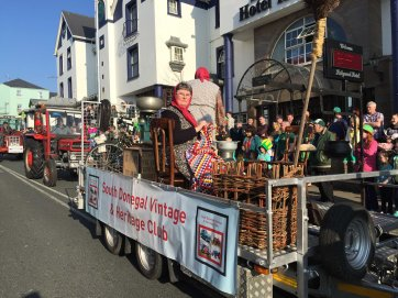 The South Donegal Vintage and Heritage Club in the parade