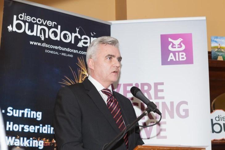Discover Bundoran Vice Chairman John O'Connell