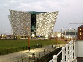Titanic in Belfast - pic Clare Best