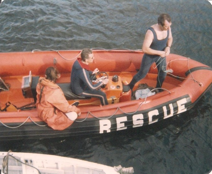 The Bundoran Lifeboat replacement following the destruction of its predecessor during the storm