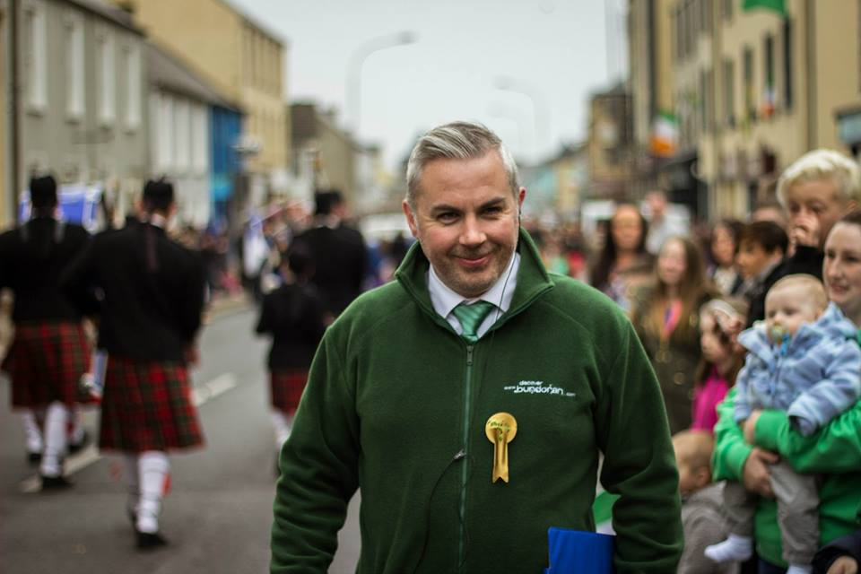 Tourism Officer Shane Smyth
