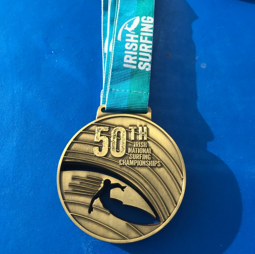 Medals were specially commissioned to commemorate the 50th anniversary of the nationals