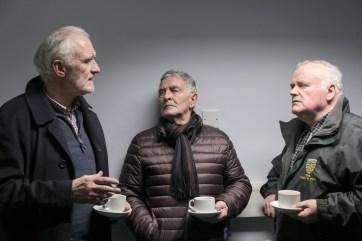 Kevin Carmody, Seamie Granaghan and Micheal McMahon