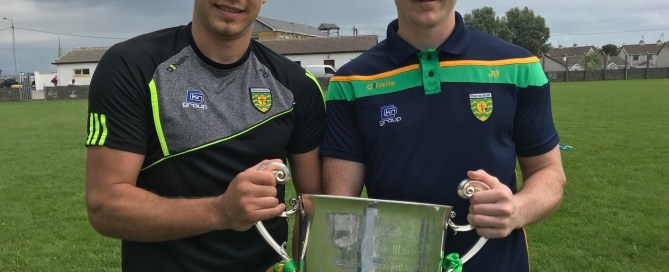 Photo of Paul Brennan & Jamie Brennan of REalt Na Mara at Cul Camp Bundoran