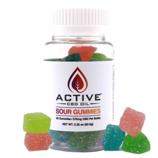Active CBD oil Gummies 25 count