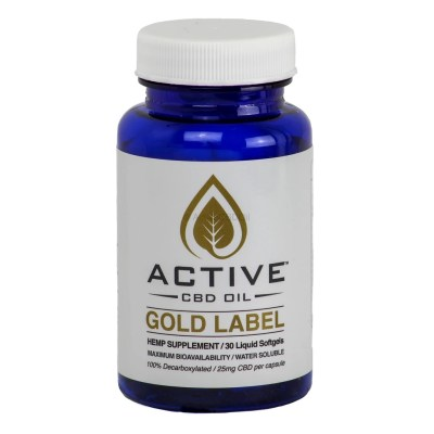 Active CBD Oil Capsules 30 ct
