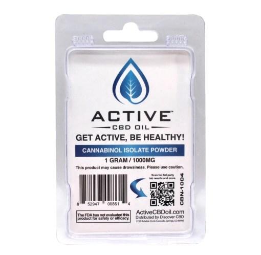 Active CBN Isolate Powder