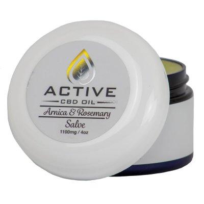 Active CBD Oil Salve 1100mg