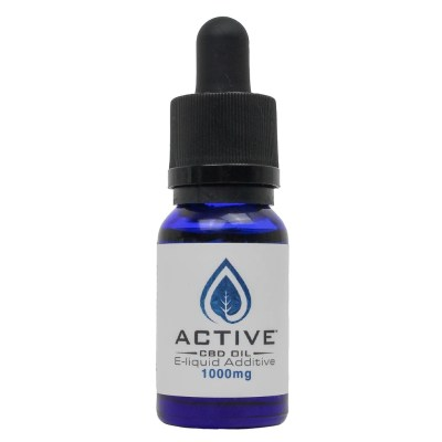Active CBD E-Liquid Additive