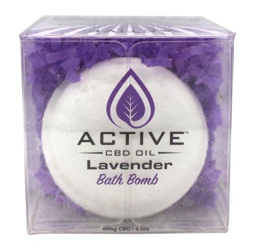 Active Bath Bomb Lavender 40mg