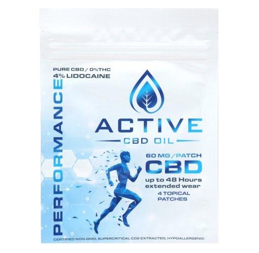 Active CBD Patch 60mg