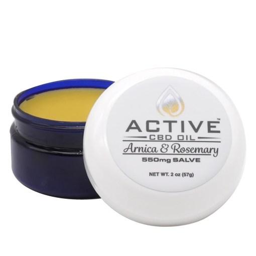 Active CBD Oil Salve 550mg