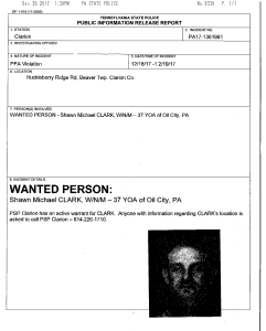 wanted man