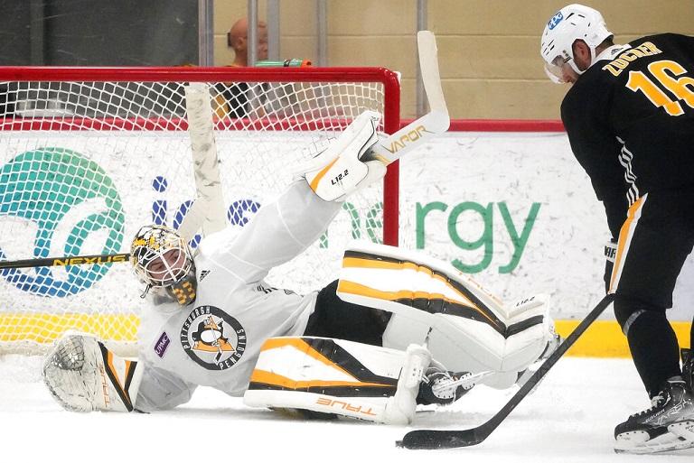 No Crosby, no Malkin gives Penguins camp an unusual vibe