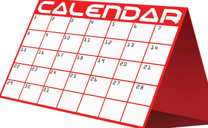 Weekly News/ New 2019-20 Calendar