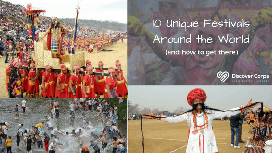 10 Unique Festivals Around the World (and How to Get There)