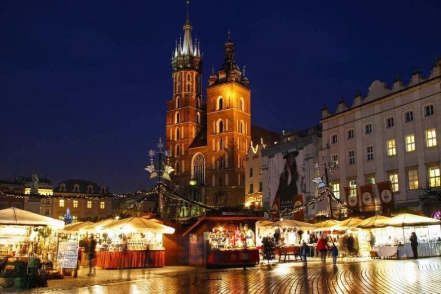 Krakow christmas market pic