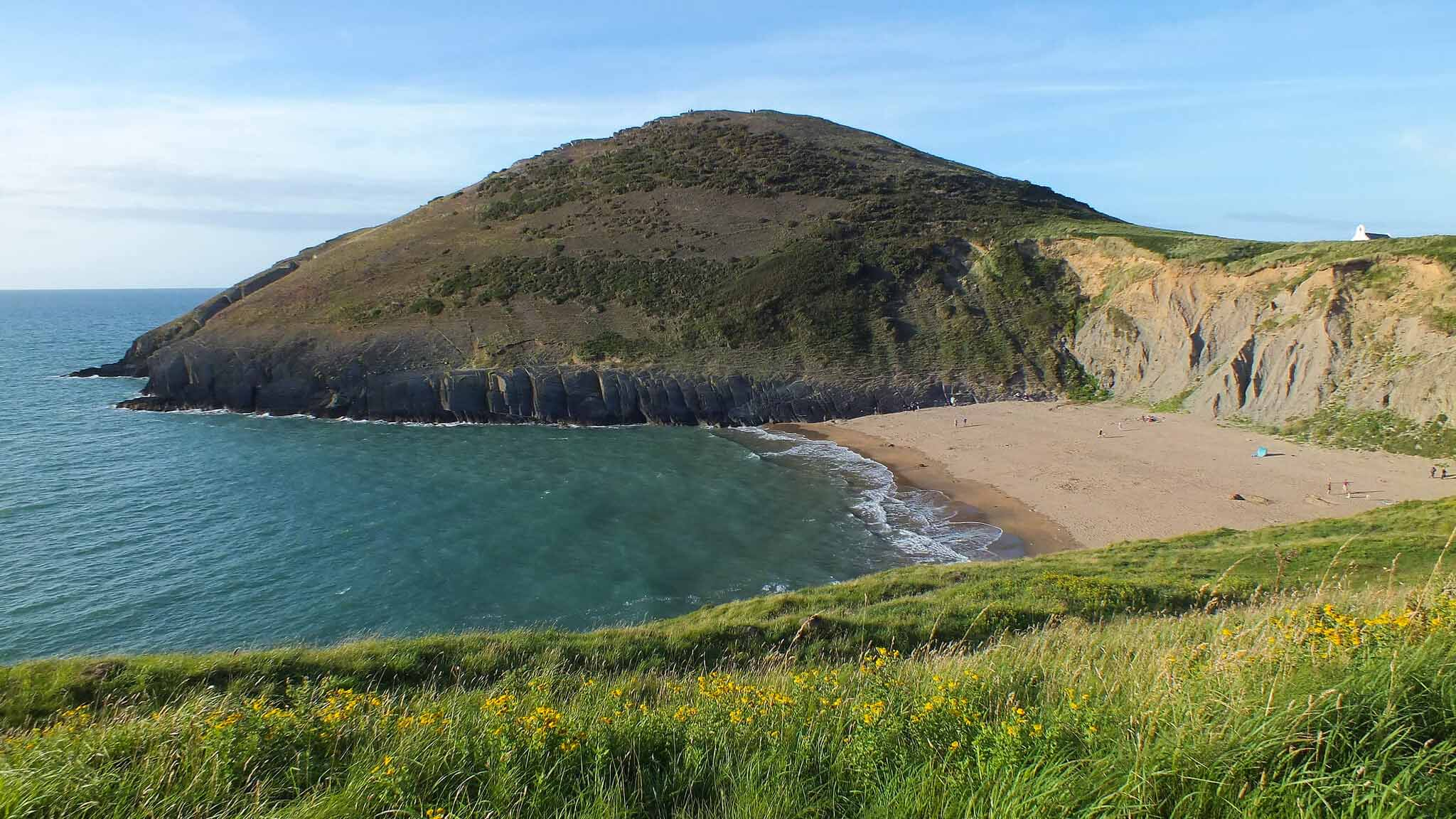 wales best beaches - mwnt
