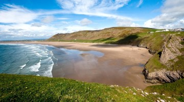 10 of Wales' Best Beaches