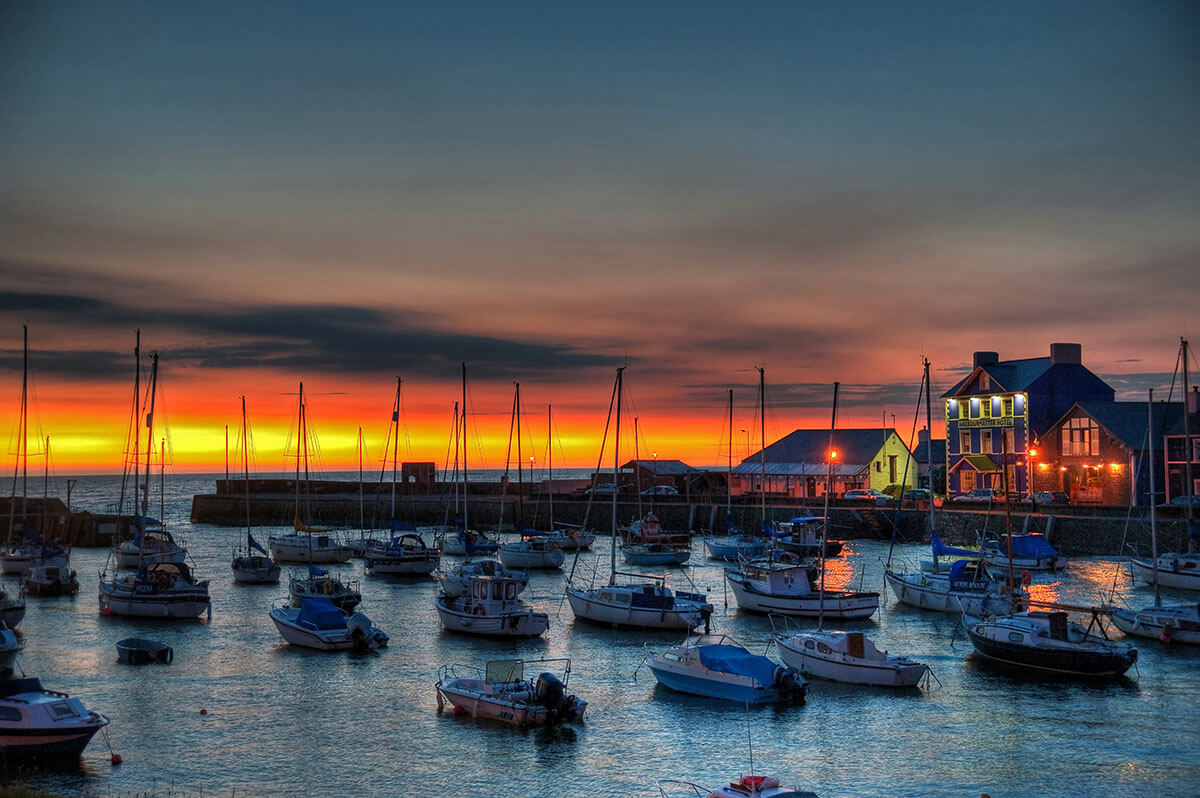 The Harbourmaster Hotel, Wales