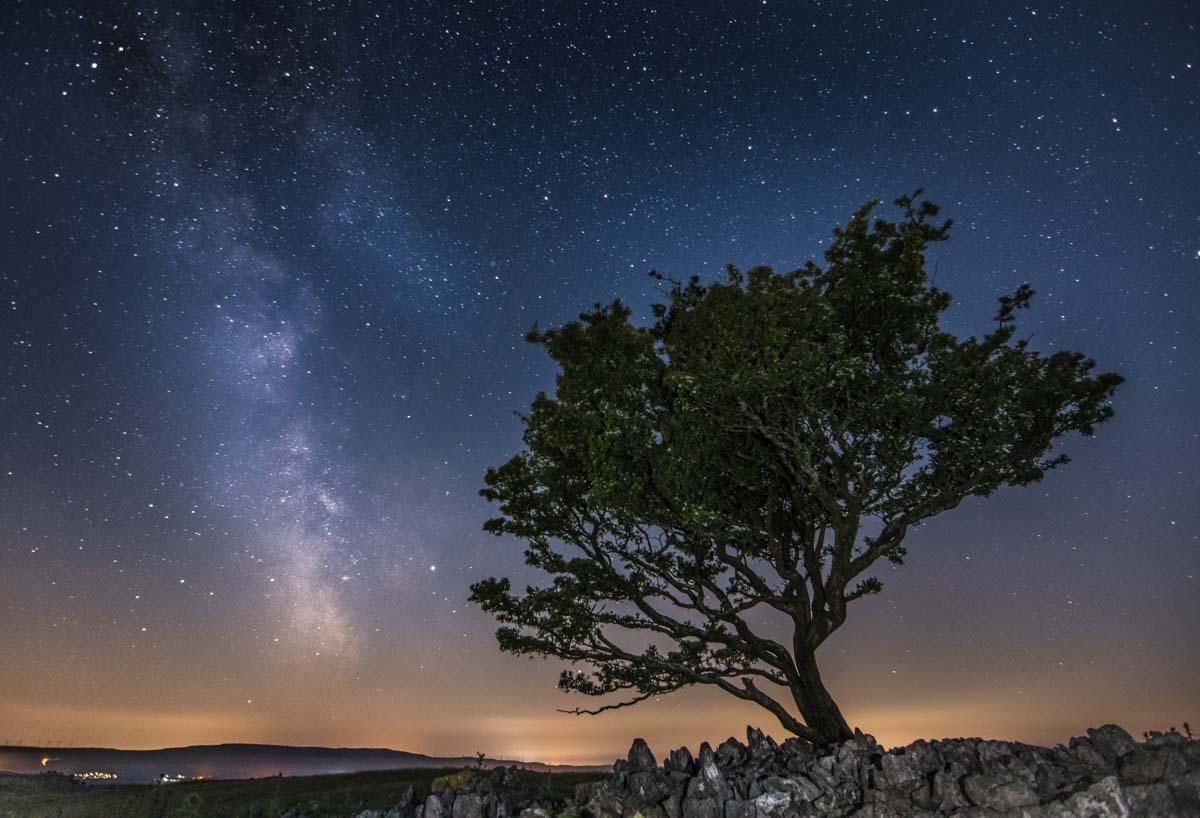 The Milky Way, Ystradfelte