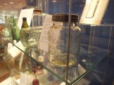 Glass jar on display