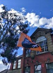 Ted Hughes Festival Flag
