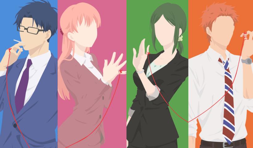 Romantic anime not in high school