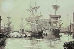 Treasure Hunter, Docks, Boats, Ships, Sailing