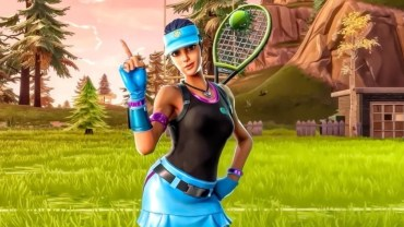 Tennis Cosmetic Set Fortnite Skin
