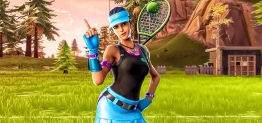 Tennis Cosmetic Set Fortnite Skin