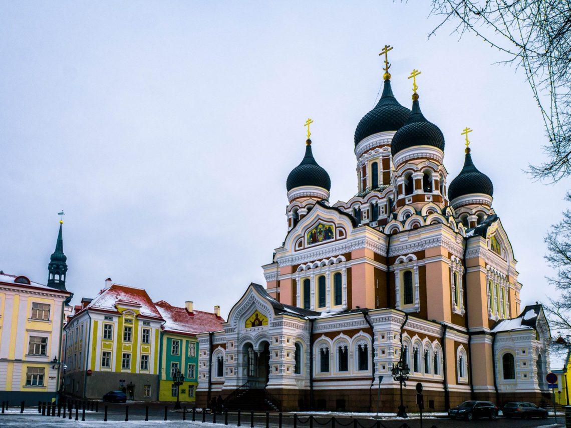 Living in Estonia - Russian Cathedrals