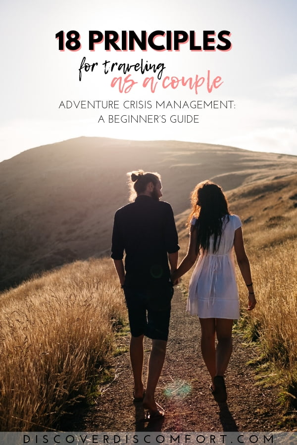 Couple travel can be amazing for your relationship. It can also one of the most biggest challenges you'll face. Through trial and a lot of error, we've put together a set of travel principles and tips inspired by Ray Dalio's book Principles to make every experience better than the last.