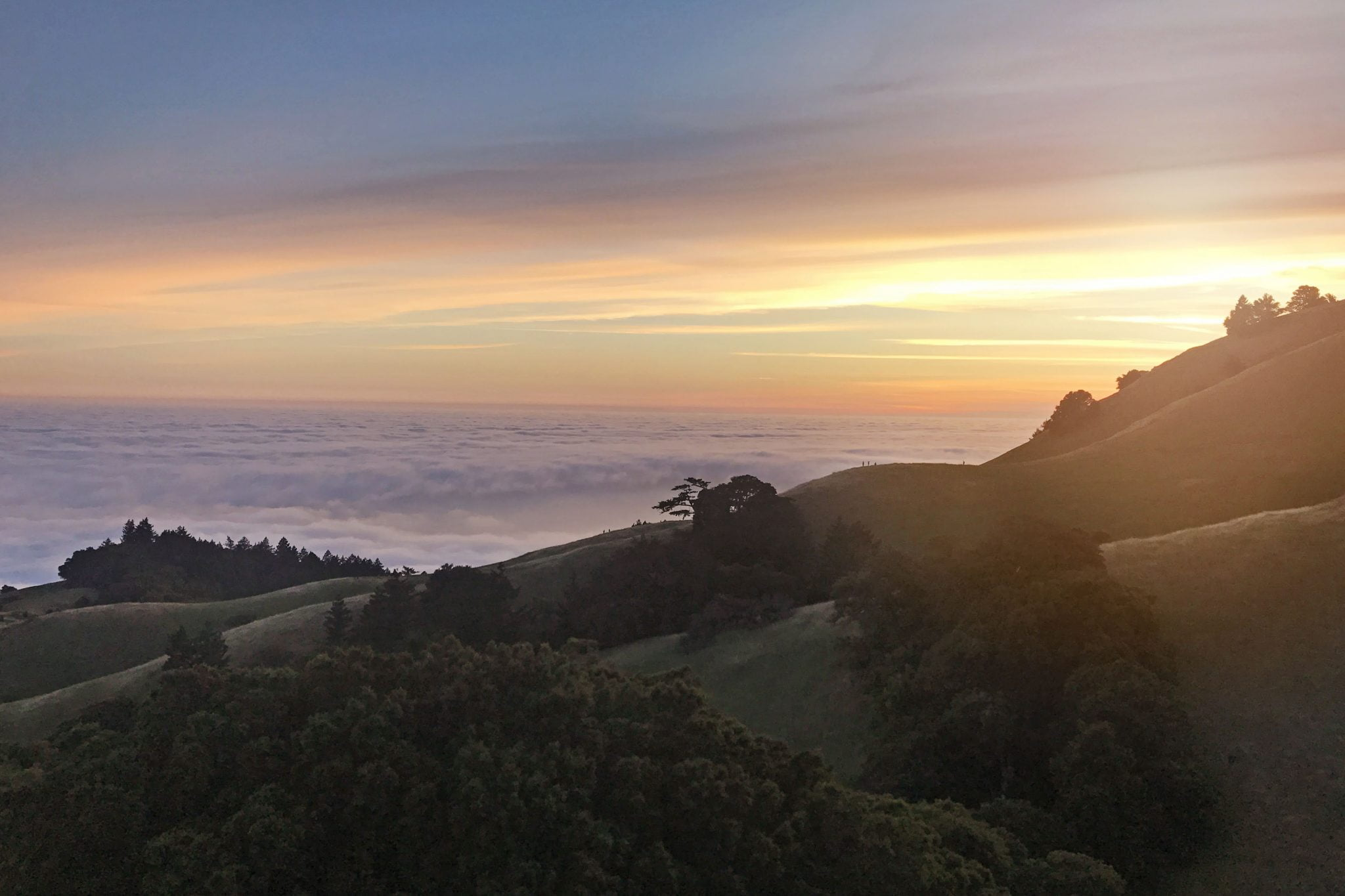 Principles for Adventure Travel - Sunset
