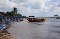 the beach and a few amenities at this beach club