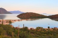 El Requeson Playa, Bahia Concepcion, Baja California, Best RV camping on the transpeninsular hwy. Baja California Sur