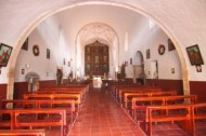 Interior architecture of the temple