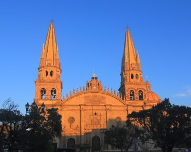 This is the facade of the Catedral Metropolitana which is now a mixture of Gothic, Baroque, Moorish and Neoclaassical architectural styles. Construction of the original building started in 1558 but 2 earthquakes have since destroyed most of the original building. In the most recent past, new twin towers were built to replace the originals that were destroyed by one of the earthquakes in the 19th century.
