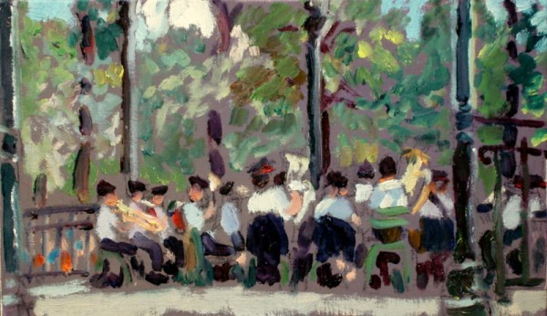Luxembourg Gardens, Band