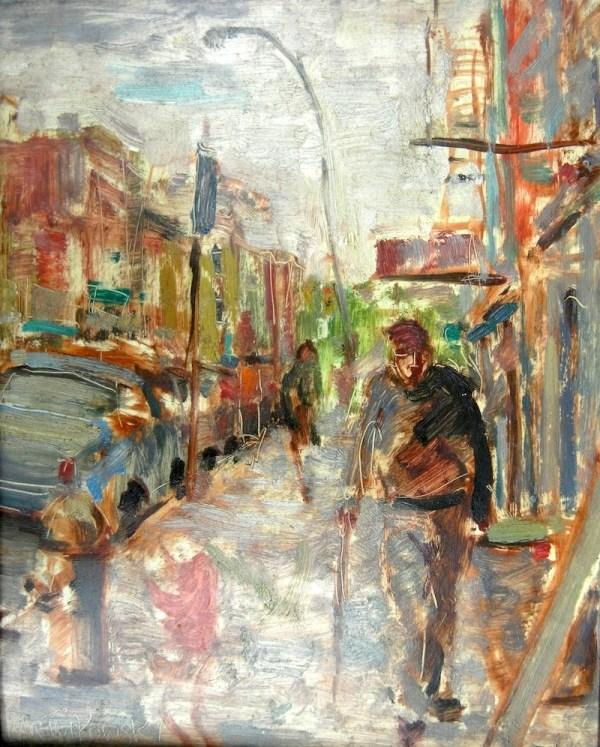 Sidewalk Scene, Brooklyn
