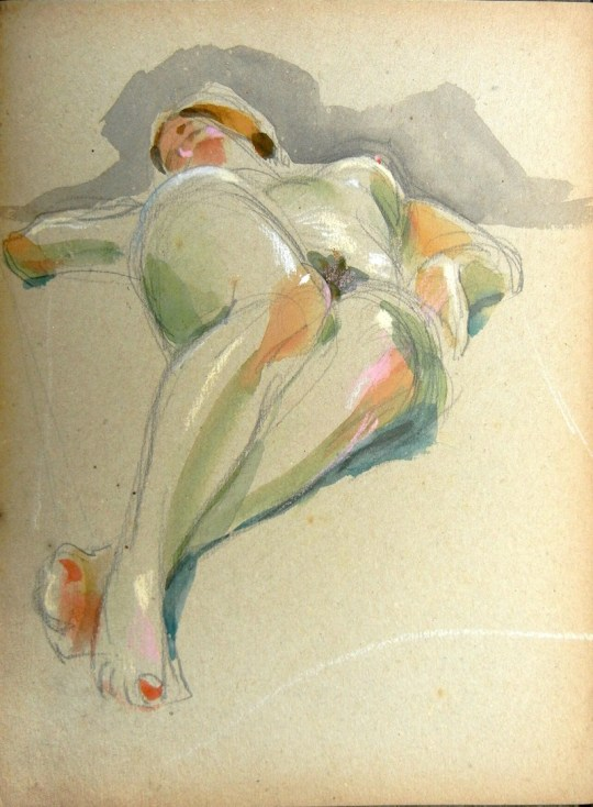 Nude (reclining)