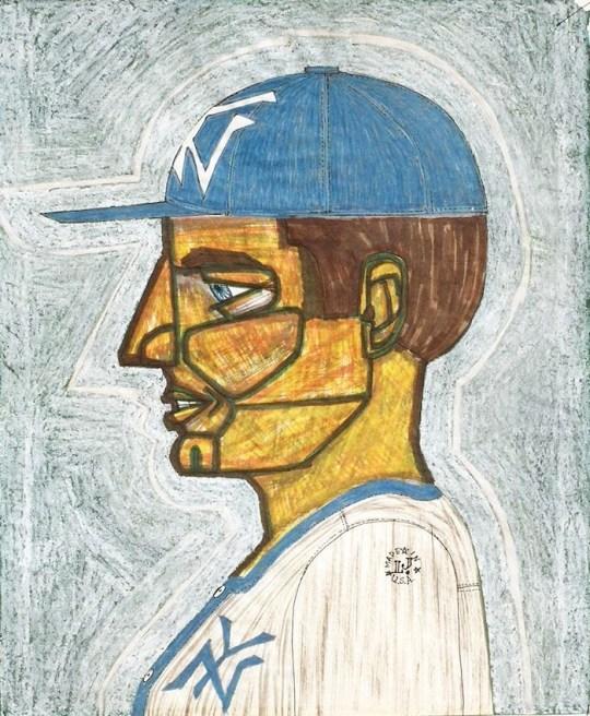 Yankees Baseball Player