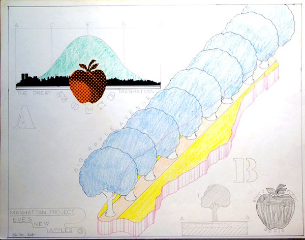 Manhattan Project: Eve's New Apples