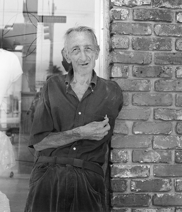 War Veteran with Crucifix, Central Ave., St. Petersburg, Florida